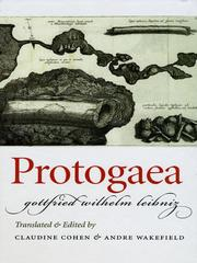 Cover of: Protogaea