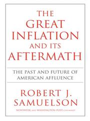 Cover of: The great inflation and its aftermath