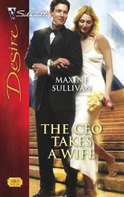Cover of: The CEO takes a wife