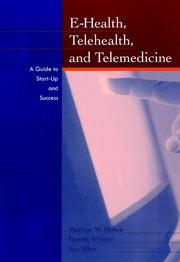 Cover of: Health, telemedicine, and telehealth