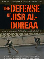 Cover of: The defense of Jisr al-Doreaa