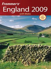 Cover of: Frommer's England 2009