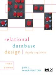 Cover of: Relational database design and implementation: clearly explained