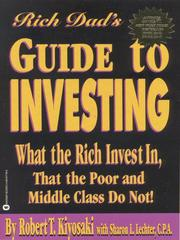 Cover of: Rich dad's guide to investing