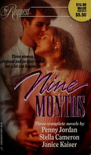 Cover of: Nine Months