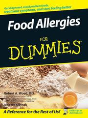 Cover of: Food Allergies For Dummies