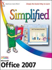Cover of: Microsoft Office 2007 simplified