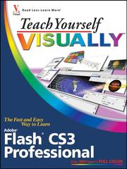 Cover of: Teach yourself visually Flash CS3 Professional