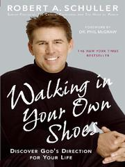 Cover of: Walking in your own shoes: discover God's direction for your life