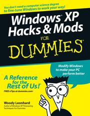 Cover of: Windows XP hacks & mods for dummies