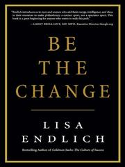 Cover of: Be the change