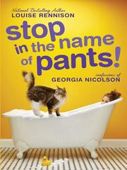 Cover of: Stop in the name of pants!