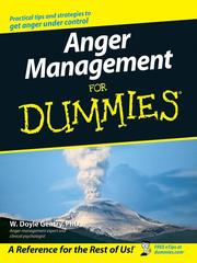 Cover of: Anger management for dummies