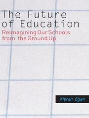 Cover of: The future of education