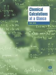 Cover of: Chemical calculations at a glance