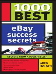 Cover of: 1000 best eBay powerseller secrets