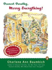 Cover of: Dearest Dorothy, merry everything!