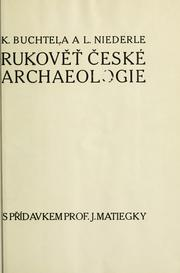 Cover of: Bukovet ceske archaeologie.