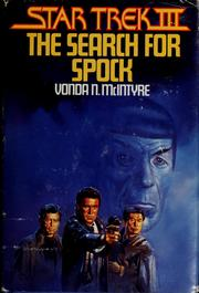 Cover of: Star Trek III: The Search for Spock