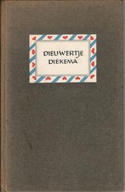 Cover of: Dieuwertje Diekema