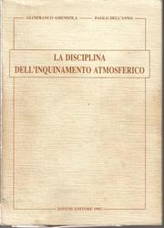 Cover of: La disciplina dell'inquinamento atmosferico