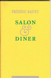 Cover of: Salon en diner