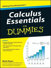 Cover of: Calculus Essentials For Dummies®