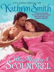 Cover of: When Marrying a Scoundrel