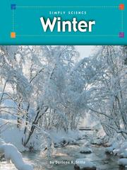 Cover of: Winter