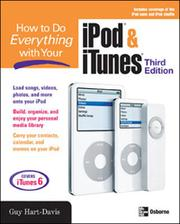 Cover of: How to Do Everything with Your iPod® & iTunes®