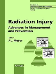 Cover of: Radiation Injury