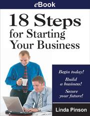 Cover of: 18 Steps for Starting Your Business