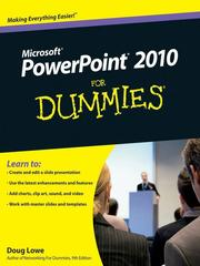 Cover of: PowerPoint 2010 For Dummies