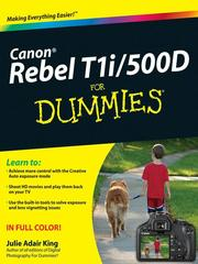 Cover of: Canon EOS Rebel T1i/500D For Dummies