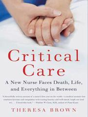 Cover of: Critical Care