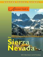 Cover of: Adventure Guide to the Sierra Nevada