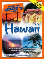 Cover of: The Complete Idiot's Guide to Hawaii