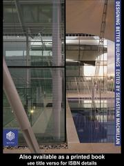 Cover of: Designing Better Buildings