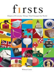 Cover of: Firsts