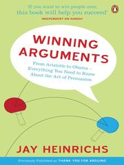 Cover of: Winning Arguments