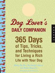 Cover of: Dog Lover's Daily Companion