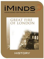 Cover of: Great Fire of London