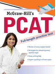 Cover of: McGraw-Hill's PCAT