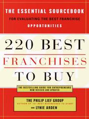 Cover of: 220 Best Franchises to Buy
