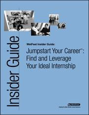 Cover of: The Insider's Guide to Getting Your Ideal Internship