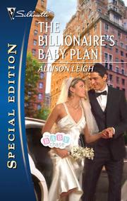 Cover of: The Billionaire's Baby Plan