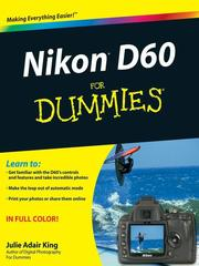 Cover of: Nikon D60 For Dummies