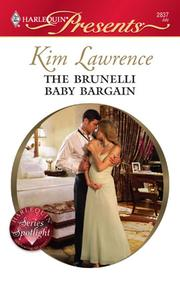 Cover of: The Brunelli Baby Bargain