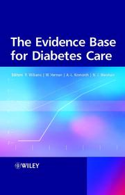 Cover of: The Evidence Base for Diabetes Care