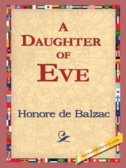 Cover of: A Daughter of Eve